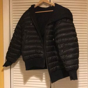 Burberry Black Langleigh Reversible Jacket